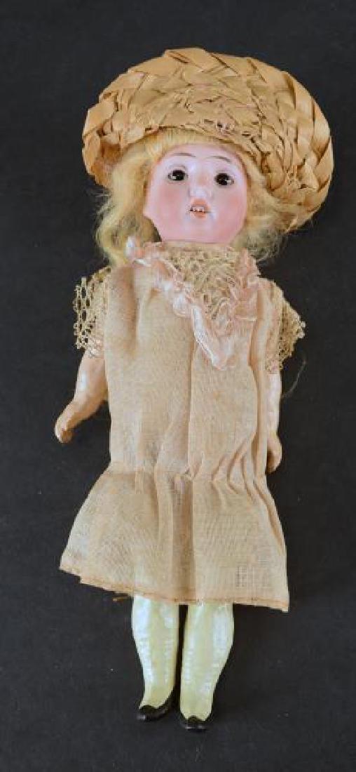 German Bisque Head Doll