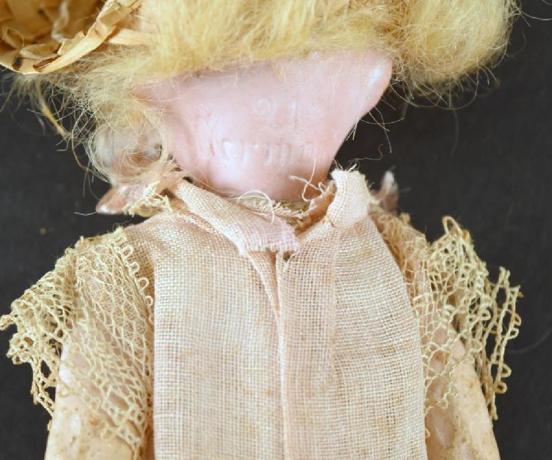 German Bisque Head Doll - 2