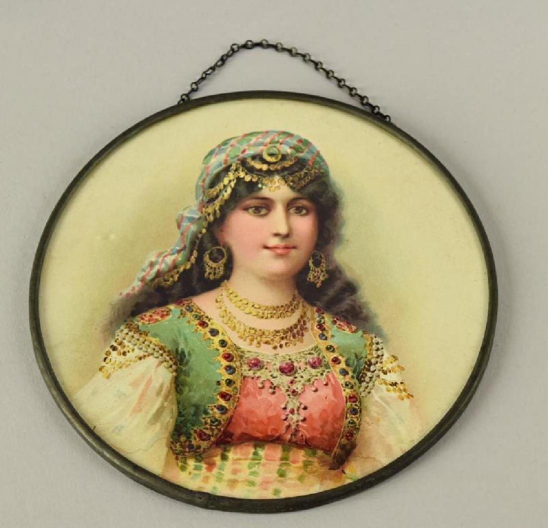 1902 Gypsy Flue Cover