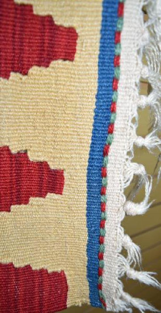 Native American Wool  Rug - 5