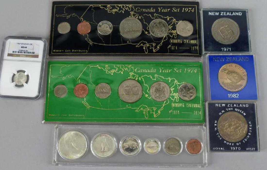 Group Of Canadian Coinage