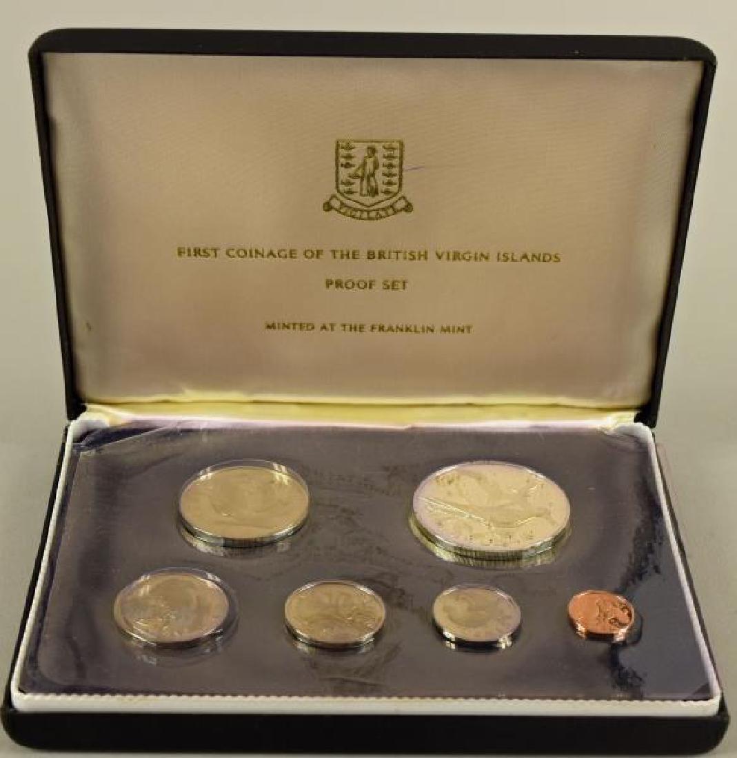 1973 British Virgin Island Proof Set Coins