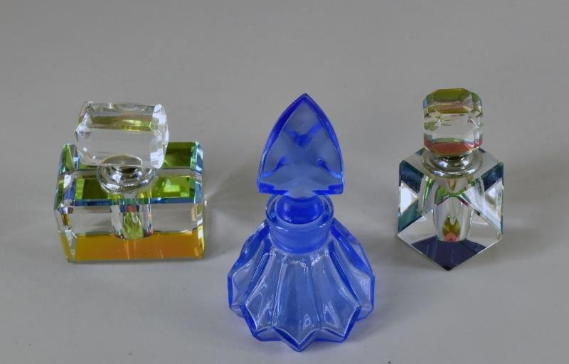 Contemporary Glass Perfume Bottles