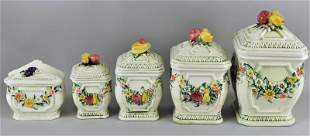 Vintage Lefton Canister Set
