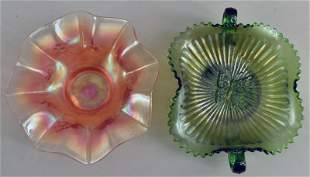 Northwood And Dugan Carnival Glass Bowls