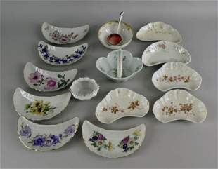 Collection Of Porcelain Table Articles