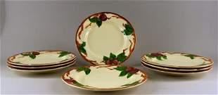 Franciscan Ware Apple Dinner Plates