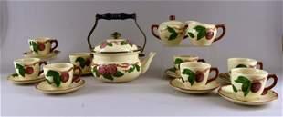 Franciscan Ware Apple Tea Set