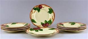 Franciscan Ware Apple Luncheon Plates