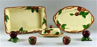 Franciscan Ware Apple Serving Pieces