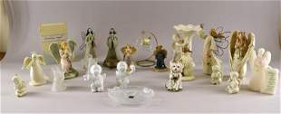 A Collection Of Angel Figures