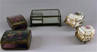 Collection Of Jewelry And Music Boxes