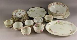 A Group Of Various Haviland And Limoges Dinnerware