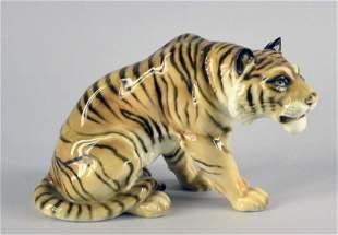 German Hutschenreuther Figural Tiger
