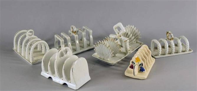 Collection Of English Toast Holders
