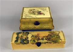 Two Victorian Boxes