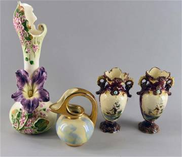 A Group Of Vases