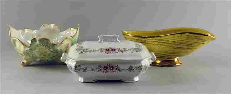A Group Of Decorative Items