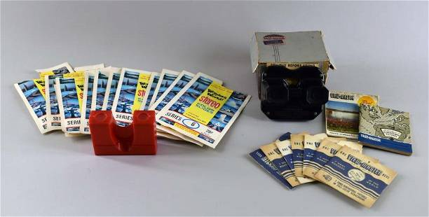 Sawyer's View-master And Slides