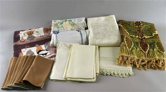 Collection Of Mid-century Table Linens