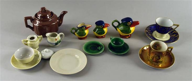 Group Of Children's And Doll Partial Tea Sets