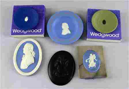 A Group Of Wedgwood Portraits And Plates
