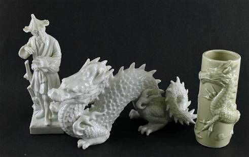 Fitz And Floyd Asian Figurines