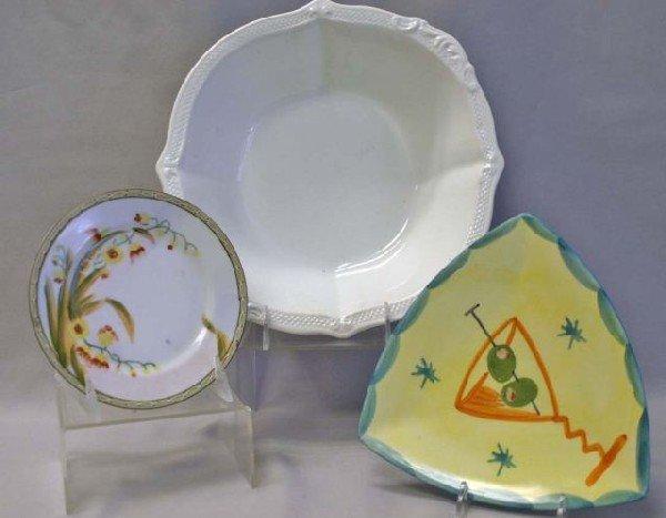 2: Mid-Centuru Italian Triangle Plates