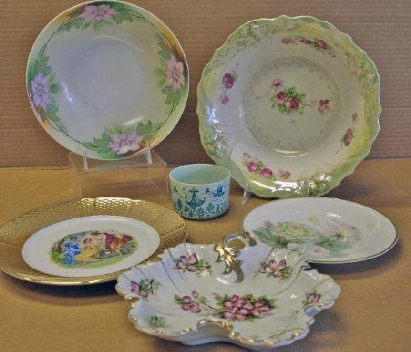 11: Collection of Hand Painted & Transfer China