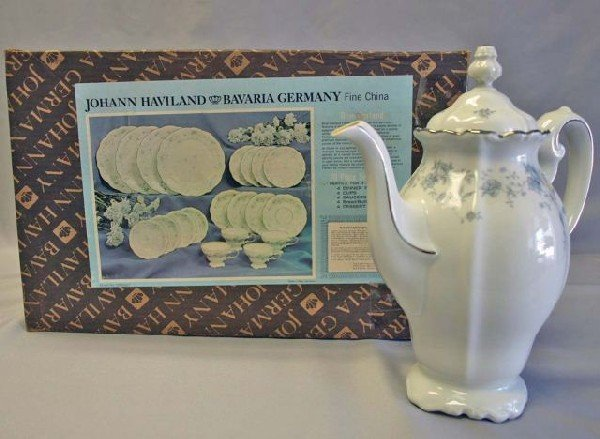 14: Johann Haviland Blue Garland China