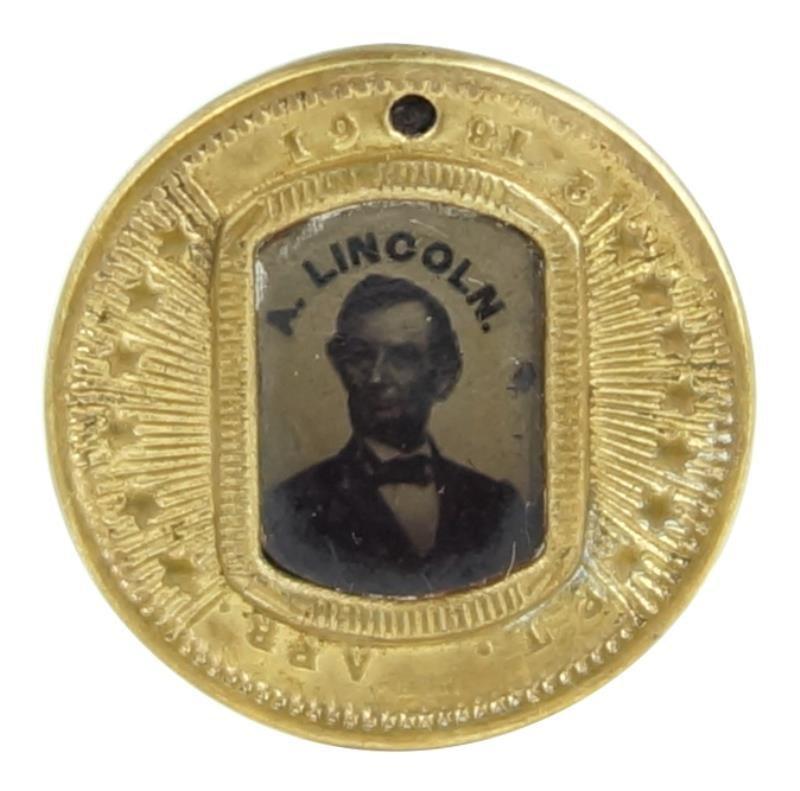 1864 Lincoln & Johnson Political token