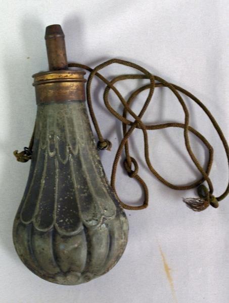 Civil War Black Powder Flask
