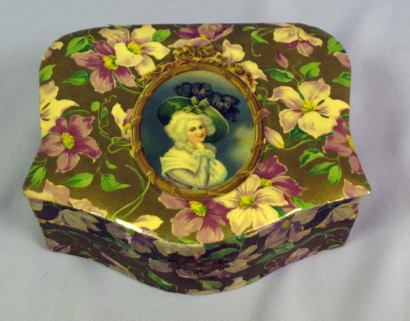 Vintage Handkerchief or Glove Box