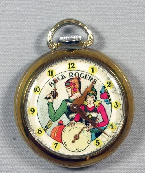 RARE Original Buck Rogers Pocket Watch