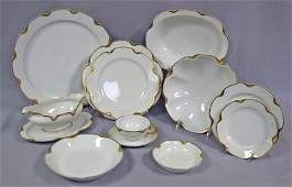 Haviland Silver Anniversary #19 with Gold Trim China