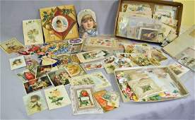 Collection of 19th Century Advertising Cards