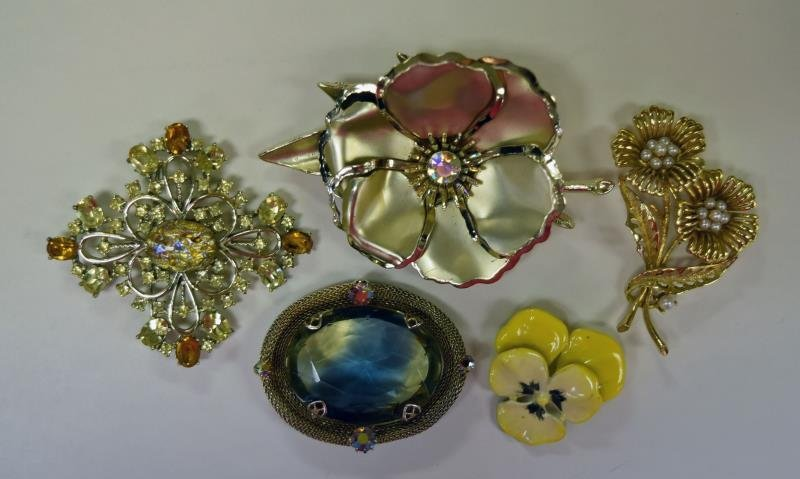 Collection of Goldtone Costume Jewelry - 2