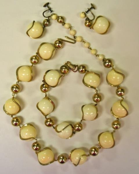 Collection of Goldtone Costume Jewelry - 3