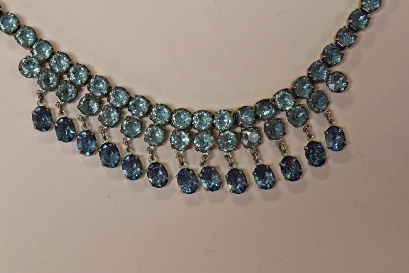 Collection of Baby Blue Costume Jewelry - 2