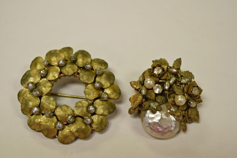 Vintage Mariam Haskell Pins or Brooches