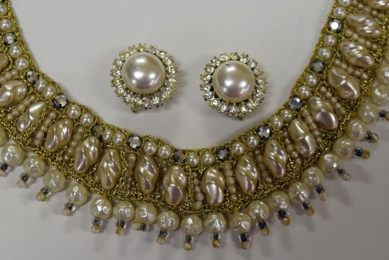 Collection of Faux Pearl Costume Jewelry - 2