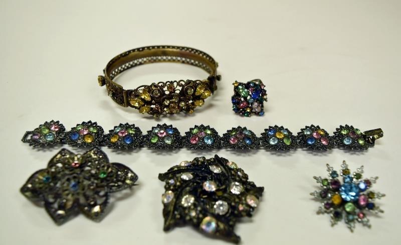 Vintage Rhinestone Costume Jewelry