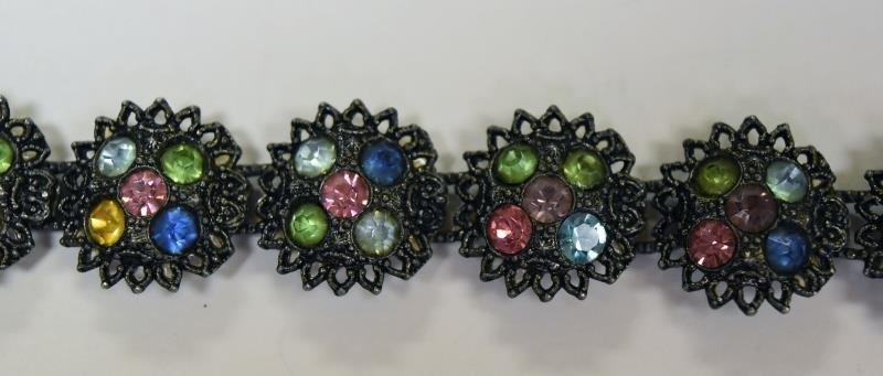 Vintage Rhinestone Costume Jewelry - 3