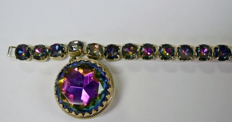 Vintage Rhinestone Bracelet - 3
