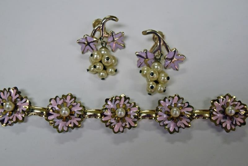 Collection of Pink Costume Jewelry - 3