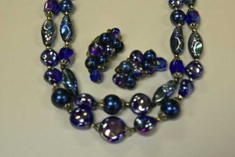 Three Sets of Demi-Parure Necklaces & Earrings - 4