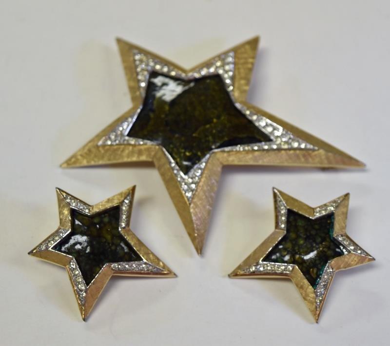 Boucher Star Demi-Parure Set