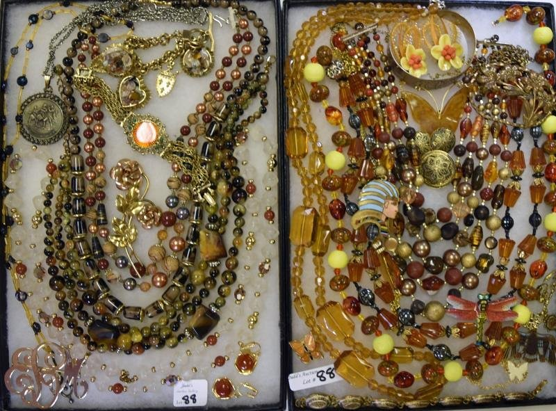 Collection of Amber and Natural Colors Jewelry