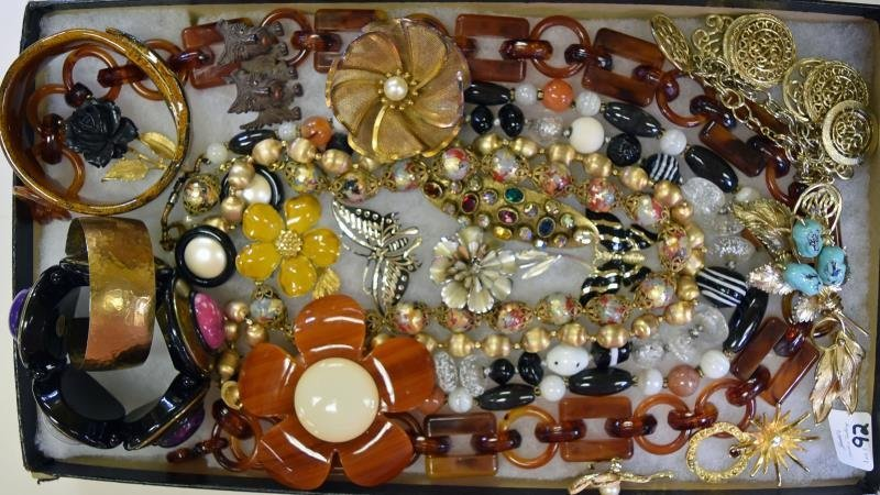 A Group of Natual Costume Jewelry
