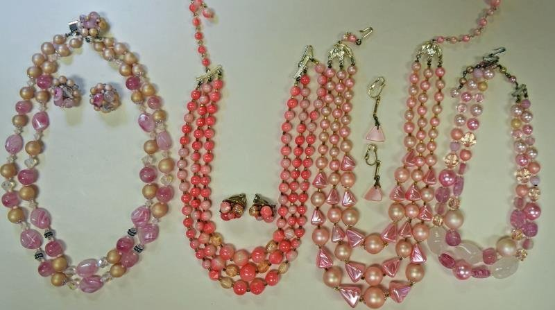 Mid-Century Japan Costume Jewelry